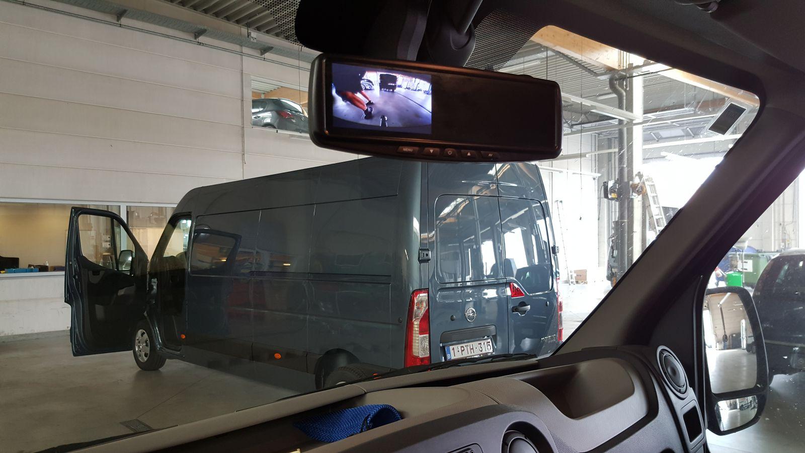 Spiegelmonitor voor Camera beeld