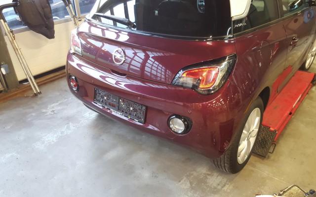 Parkeersensoren Opel Adam