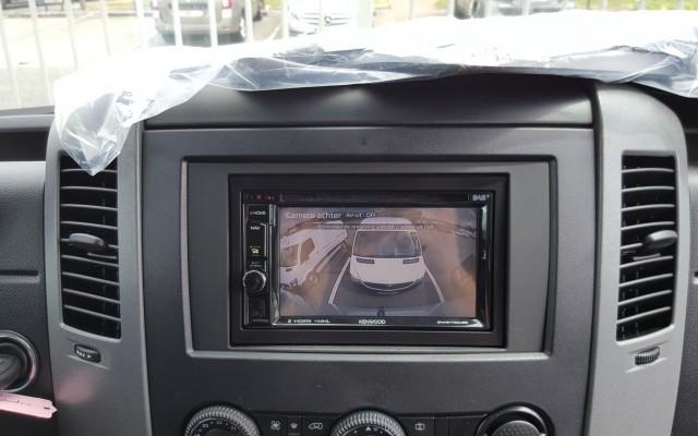 Navigatie en Camera op Mercedes Sprinter